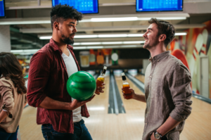 drinking-beer-bowling